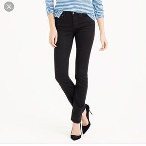 J.Crew Matchstick Black Jeans